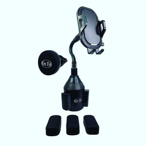 2 car phone mounts - cupholder phone holder and magnetic vent mount for Sale in Bergenfield, NJ