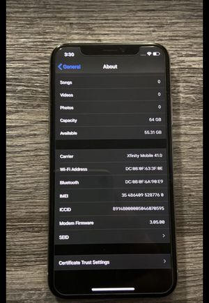 iPhone X 64 gb brand new for Sale in Forest, MS