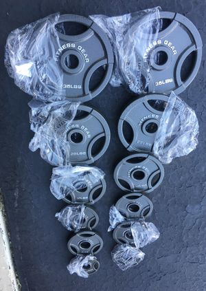 Olympic Plates 165 pounds new for Sale in Chicago, IL