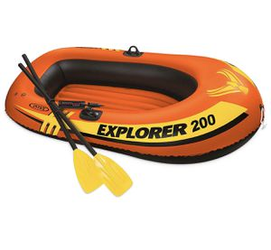 2 person raft boat. Paddles & air pump included for Sale in Phoenix, AZ