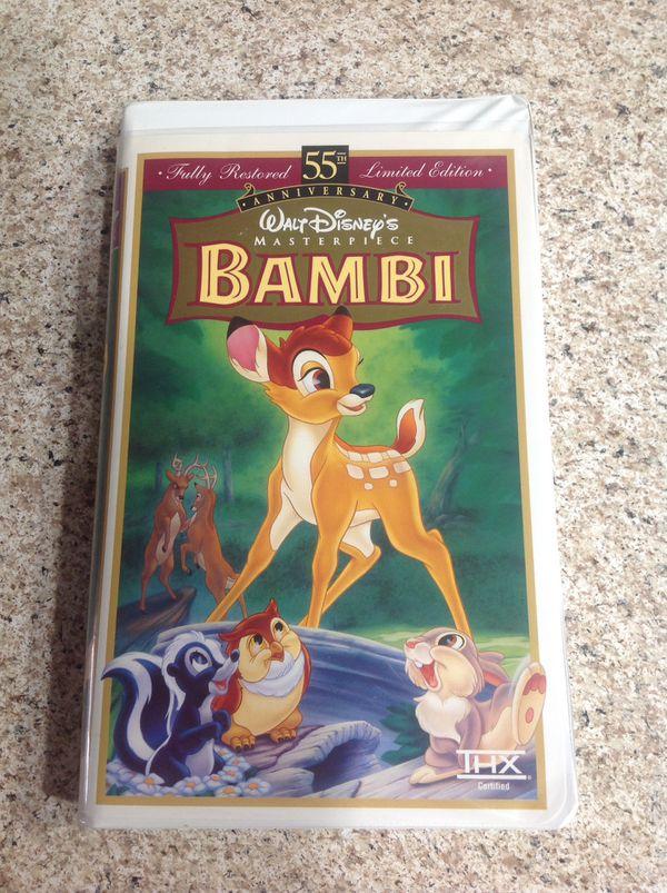 Bambi VHS $34.00 ( FINAL PRICE )