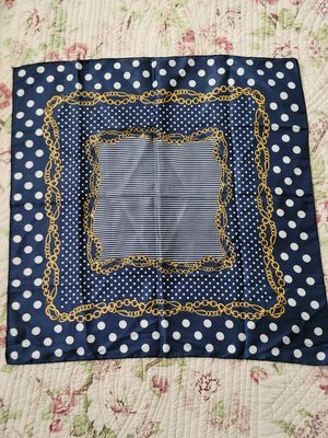 Vintage Blue and Gold Scarf for Sale in Holiday, FL
