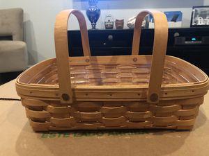 Longaberger Small Gathering Basket for Sale in Chandler, AZ