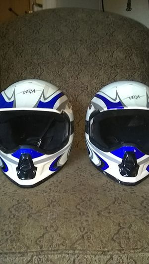 Dirt bike helmets for Sale in Denham Springs, LA