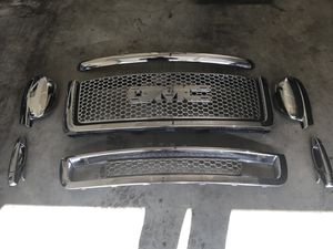 2007-2013 GMC Denali Chrome Parts. Will consider trades, see below. for Sale in Renton, WA