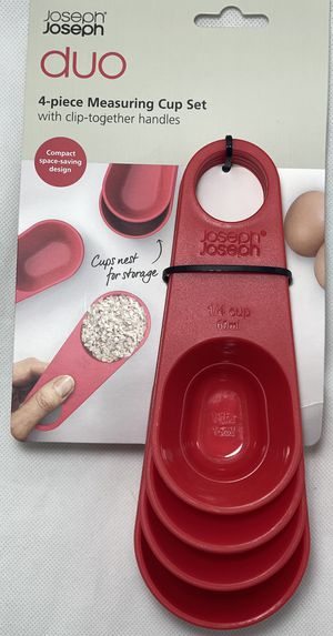 New Joseph Joseph Duo Measuring Cup Set 4 Piece for Sale in Chandler, AZ