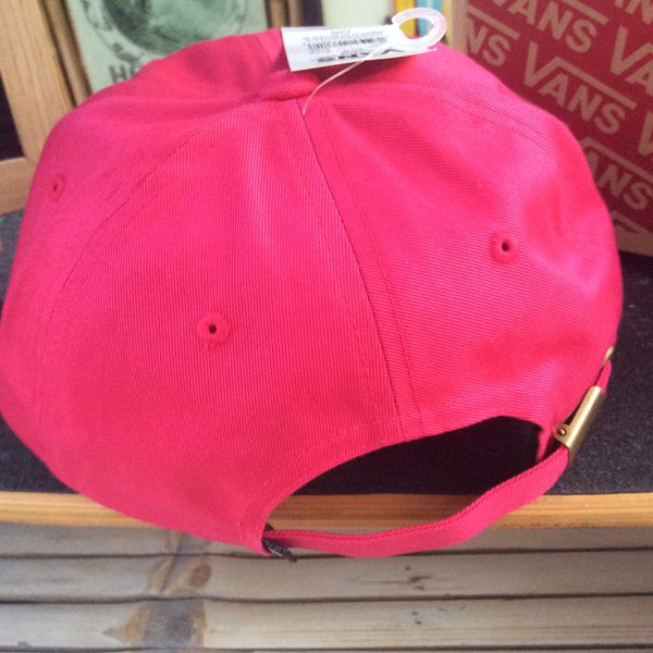 Vans Pink Mushroom Baseball Hat New With Tags