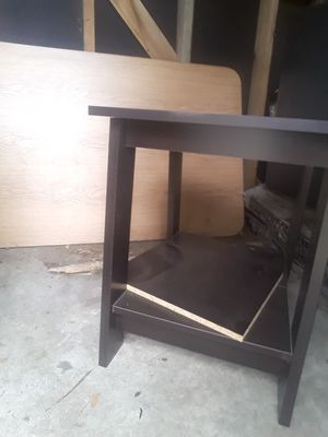 Desk, drawer, a d little stand for Sale in Sheridan, CO