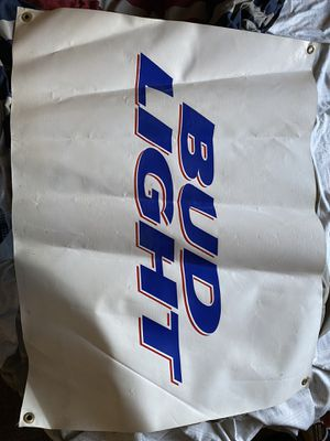 Bud light banner for Sale in Fresno, CA
