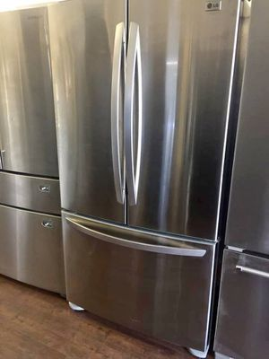 FREE DELIVERY! LG Refrigerator Fridge Stainless Steel Works Perfect #918 for Sale in Riverside, CA
