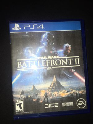 Star Wars battfront 2 PS4 for Sale in Colton, CA