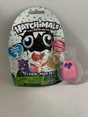 HATCHIMALS CollEGGtibles (SEASON 2) Blind Bag & Exclusive PET for Sale in Seattle, WA