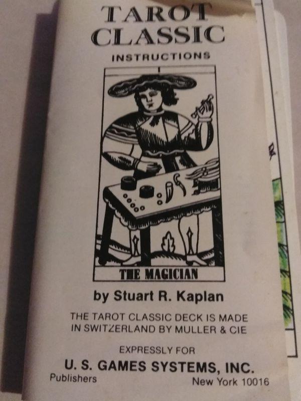1971-1974 tarot classic cards