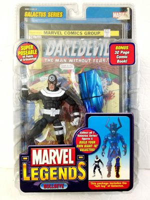 BULLSEYE Marvel Legends Galactus BAF Series Toy Biz action figure NEW for Sale in West Covina, CA