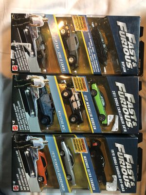 Fast and furious collectible toys for Sale in Payson, AZ