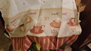 Coffee Theme Kitchen Curtain Set for Sale in Cupertino, CA