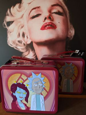 RICK & MORTY Tin Unity Lunchbox for Sale in Upland, CA