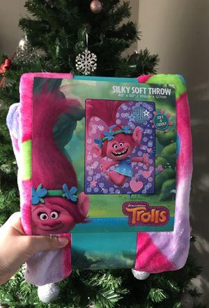 Trolls Silky Soft Blanket / Throw for Sale in Seattle, WA