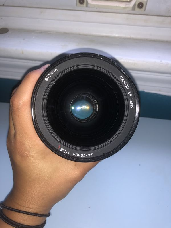 canon zoom EF Lens 24-70mm