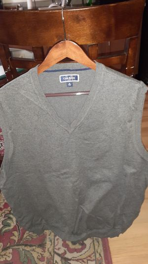 Mens XL Gray Sweater Vest for Sale in Washington, DC