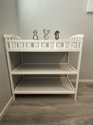 White changing table for Sale in Oceanside, CA