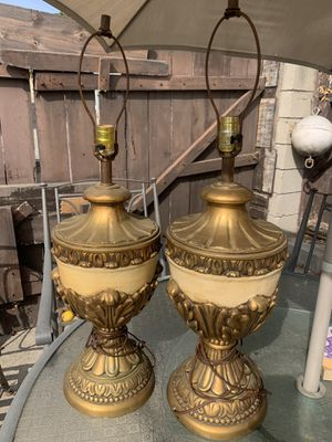 Vintage lamps for Sale in Los Angeles, CA