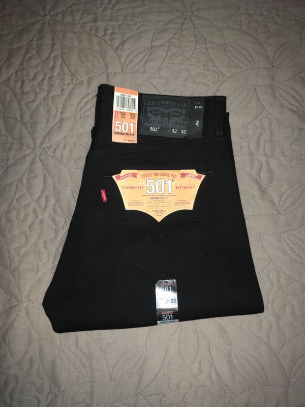 Brand new never used Levi's 501s (rough)
