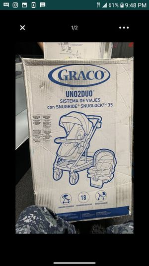 Brand new uno2duo carseat and stroller brand new in box for Sale in Washington, DC