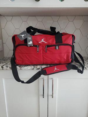 Red Jordan Duffle Bag- Carry on Travel Jordans Bag. NBA- Duffel for Sale in Scottsdale, AZ