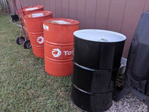 55 Gallon Drums for Sale in Spring, TX