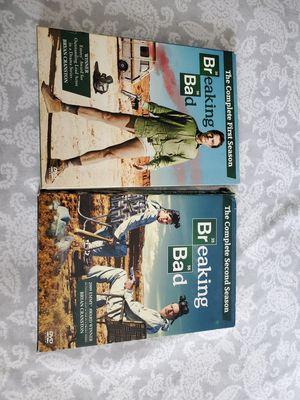 Breaking Bad Season 1 & 2 DVD for Sale in Galt, CA