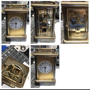 Antique Boston Clock Co. Carriage Clock for Sale in Philadelphia, PA