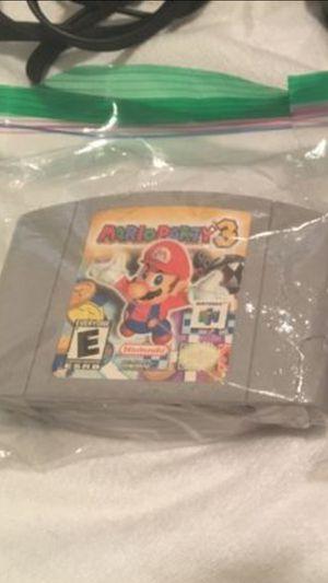 Mario party 3 mint condition 💯 for Sale in Woodbridge, VA