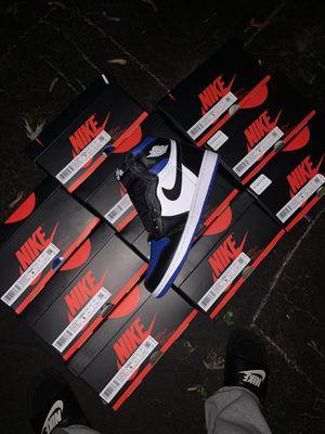 Jordan 1 Royal toe for Sale in Elgin, IL