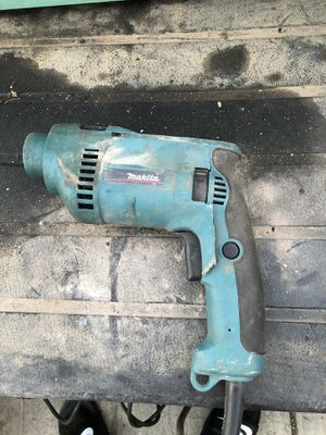 Makita hammer drill (as is) for Sale in Tracy, CA