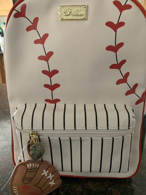 Betsey Johnson Baseball Backpack for Sale in Oceanside, CA