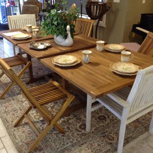 First Grade Teak Wood Table for Sale in Alpharetta, GA