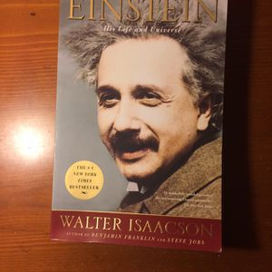 Einstein His Life And The Universe By Walter Issacson for Sale in Woburn, MA