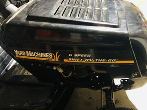 yard machine riding lawn mower for Sale in Fort Worth, TX