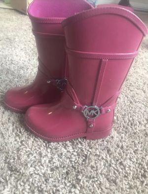 Kids Michael Kors rain boots for Sale in Manassas, VA