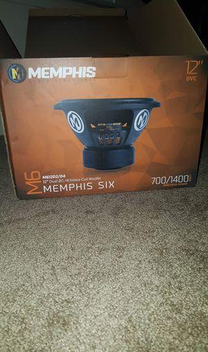 "Memphis Audio M612D2/D4 12"" Subwoofer for Sale in Murfreesboro, TN"
