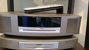 Bose Wave Audio w/ 3 disc player add-on for Sale in Greenbelt, MD