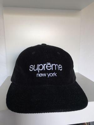 Supreme New York Corduroy Cap for Sale in El Cajon, CA