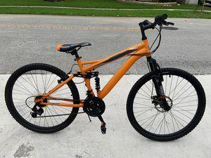 "26"" Mongoose Ledge 2.2 Men's Mountain Bike Color: Orange Frame: aluminum for Sale in FL, US"