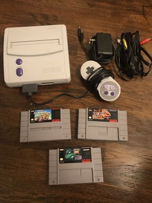 Snes mini with games for Sale in Culver City, CA