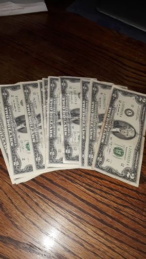 $24 Face Value Two Dollar Bills for Sale in Colton, CA