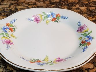 Edwin M Kmowles Dish Pattern 45-8 China Plate Oblong for Sale in Fort Myers,  FL