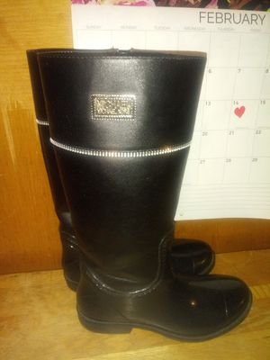 Boots, for girls,Size 2,(Black) for Sale in Chicago, IL