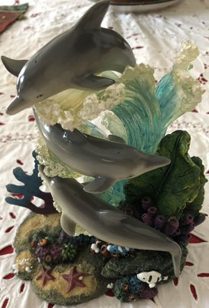 Collectable Dolphins Sculpture. for Sale in Tampa, FL