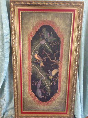 """Elegant 25"""" X 46"""" Framed Artwork Signed for Sale in Bauxite, AR"""